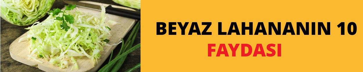 BEYAZ LAHANANIN 10 FAYDASI