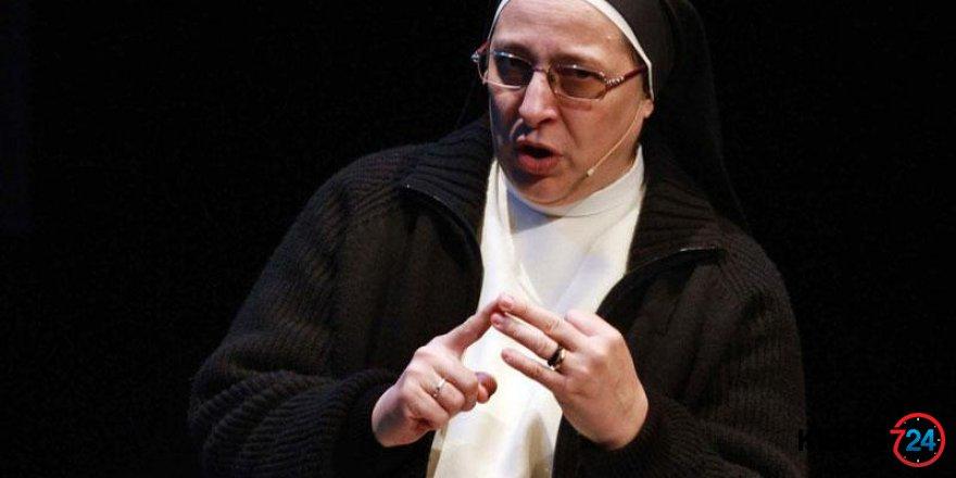 Rahibenin 'Meryem Ana' çıkışı olay oldu