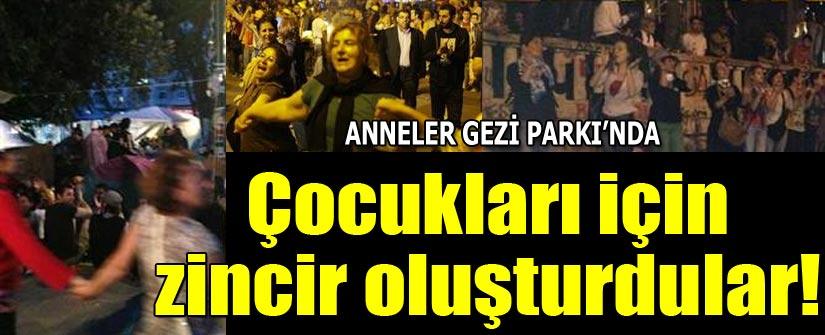ANNELER GEZİ PARKI'NDA