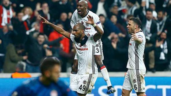 BEŞİKTAŞ ÇEYREK FİNALDE!