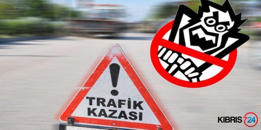 GİRNE-GÜZELYURT YOLUNDA KAZA!