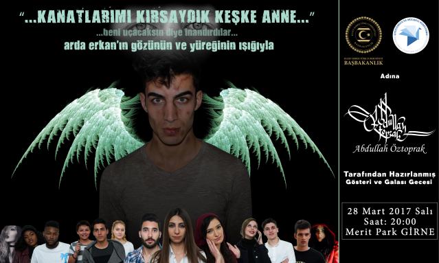 """""""KANATLARIMI KIRSAYDIK KEŞKE ANNE"""" GÖSTERİSİ ERTELENDİ"""