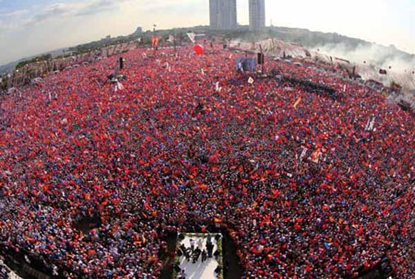 KIZILÇEŞME'DEKİ KATILIMCI SAYISI HESAPLANDI!