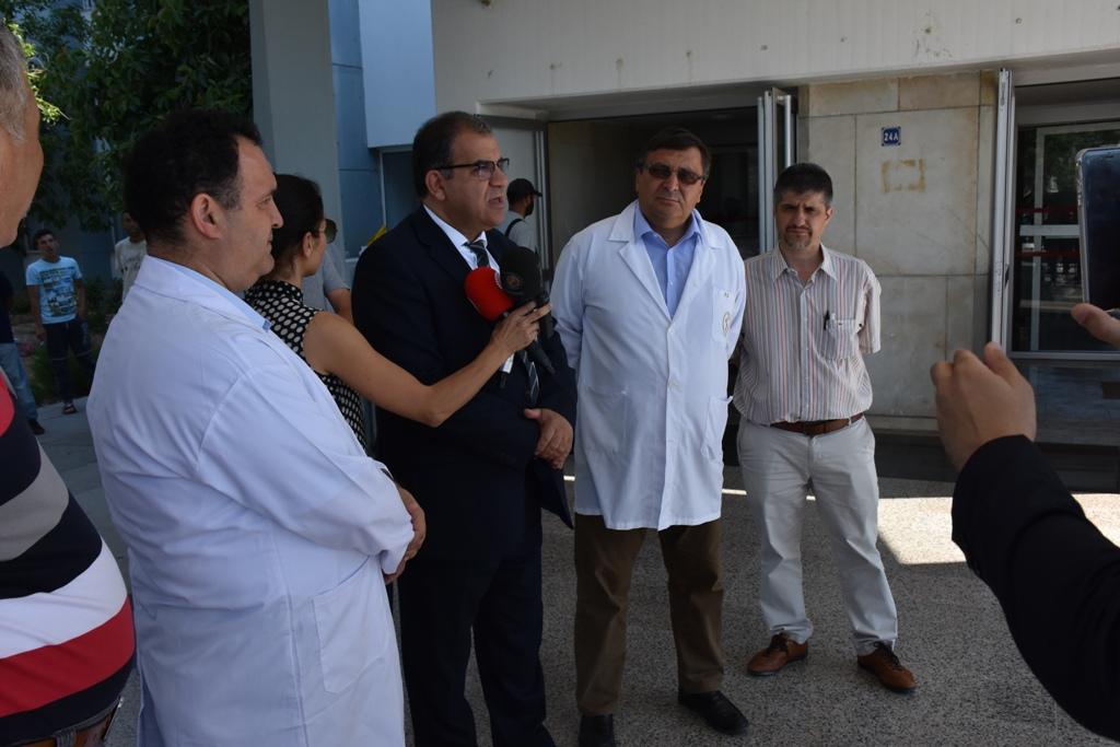 LEFKOŞA DR. NALBANTOĞLU DEVLET HASTANESİ'NE 22 SOLUNUM CİHAZI