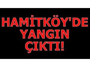 HAMİTKÖY'DE YANGIN ÇIKTI!