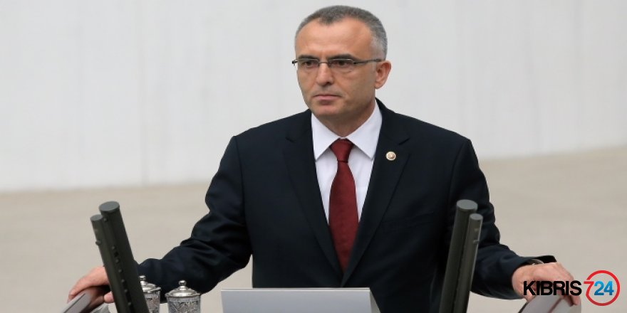 TC MALİYE BAKANI AĞBAL KKTC'YE GELİYOR
