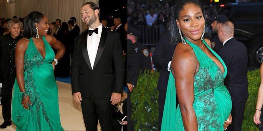 8 aylık hamile Serena Williams aşerdiği yiyeceği paylaştı, sosyal medya sallandı!