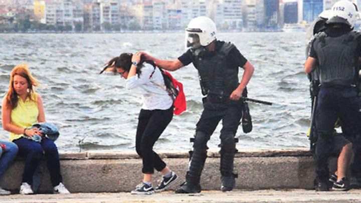 SAÇ ÇEKEN POLİSTEN ŞAŞIRTAN İFADE!