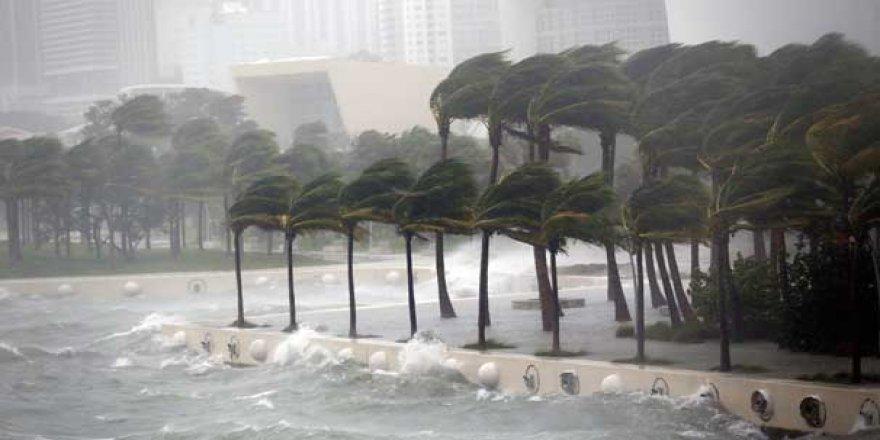 Korkulan oldu! Irma Kasırgası Florida'da...