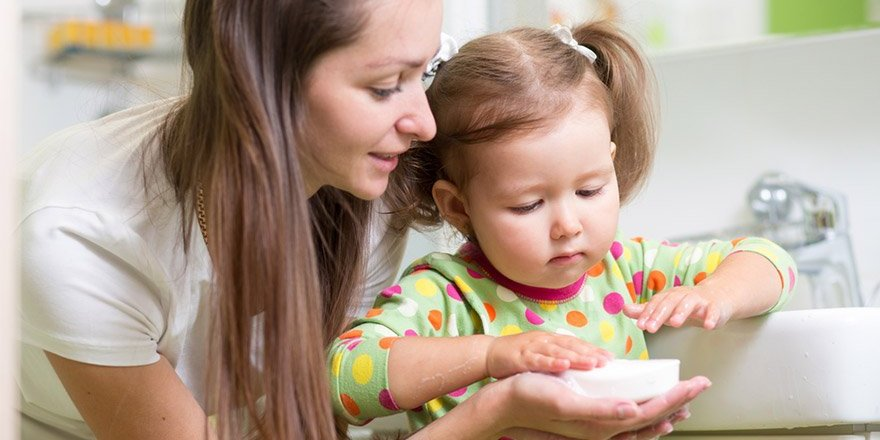 Çocuklara el yıkamayı öğretmenin 6 adımı