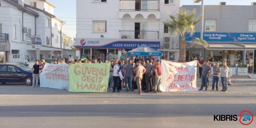 ÖĞRENCİLER PROTESTO EYLEMİ YAPTI!