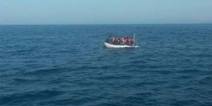 Koruçam açıklarında Suriye uyruklu 19 kişi yakalandı.