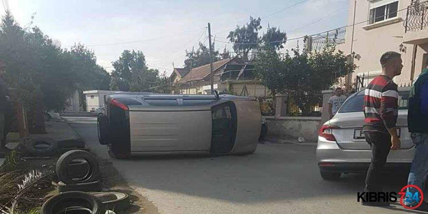 YENİŞEHİR'DE TRAFİK KAZASI!
