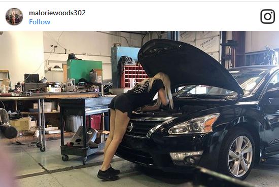 Dünyanın En Seksi Araba Tamircisi!