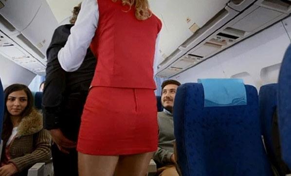 Uçakta akılalmaz taciz!