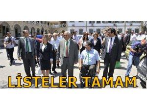 LİSTELER TAMAM