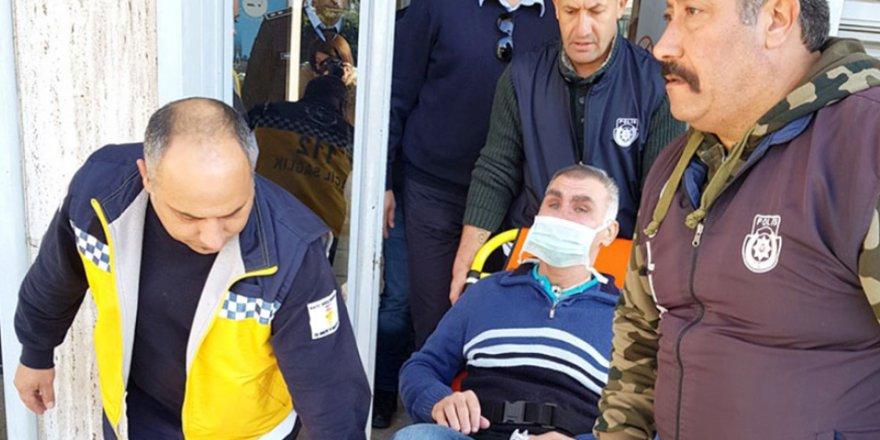 AMBULANS VE POLİS EŞLİĞİNDE MAHKEMEYE GETİRİLDİ!