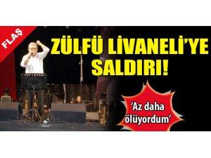 ZÜLFÜ LİVANELİ'YE SALDIRI!