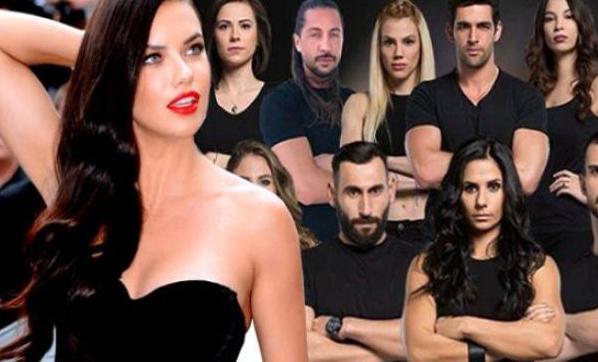 Survivor'ın o yarışmacısı ile Adriana Lima...