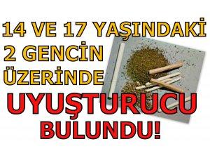 14 VE 17 YAŞINDAKİ İKİ GENCİN ÜZERİNDE...
