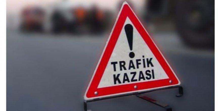 Lefkoşa–Güzelyurt anayolunda trafik kazası