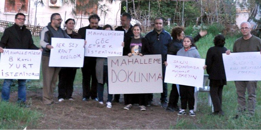 """""""MAHALLEME DOKUNMA!"""""""