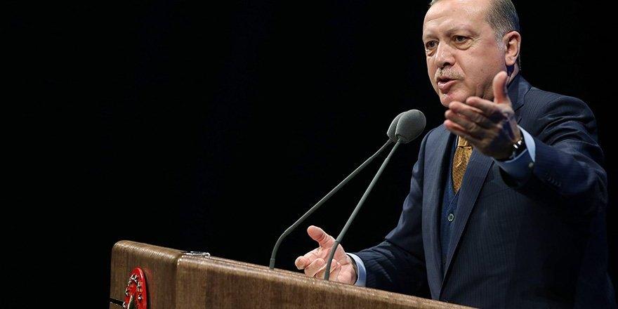 """Cumhurbaşkanı Erdoğan: """"Kuzey Kıbrıs'taki Türklerin Hakkını Kimse Cep Edemez"""""""