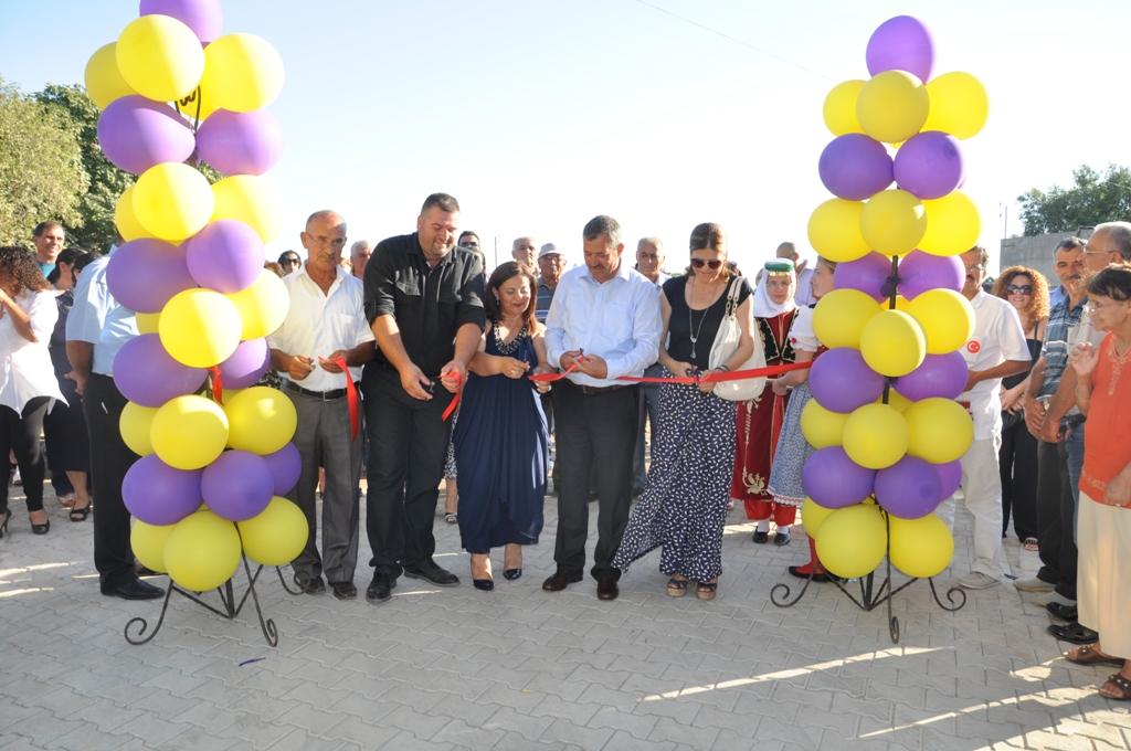 """HİSARKÖY'DE """"KIBRIS EVİ"""" HİZMETE AÇILDI"""