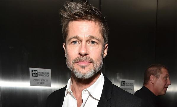 İşte Brad Pitt'in yeni sevgilisi...