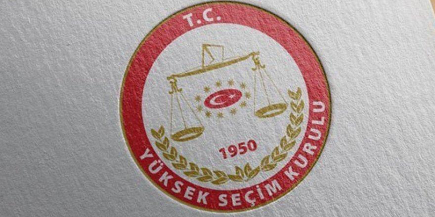 YSK Seçime girecek partileri açıkladı: İyi Parti listede
