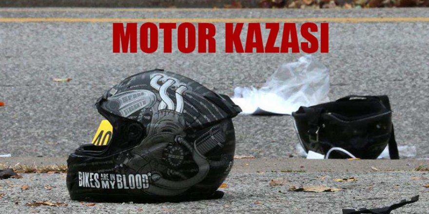 MOTOR KAZASI 1 AĞIR YARALI