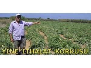 YİNE 'İTHALAT' KORKUSU