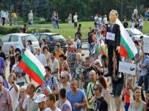BULGARİSTAN'DA HÜKÜMET KARŞITI PROTESTOLAR