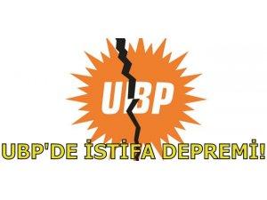 UBP'DE İSTİFA DEPREMİ!
