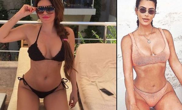 Ebru Polat, Kim Kardashian'a özendi