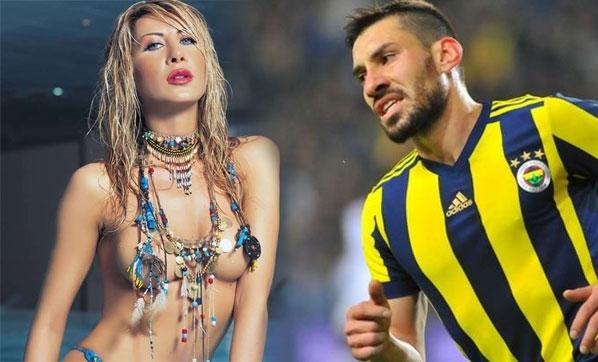 Gizem Özdilli, F.Bahçeli futbolcuyu ifşa etti
