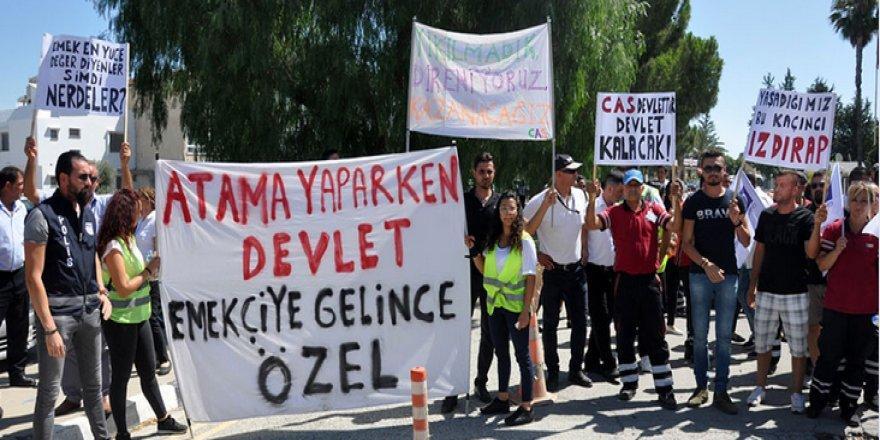 OTURMA EYLEMİ YAPTILAR!