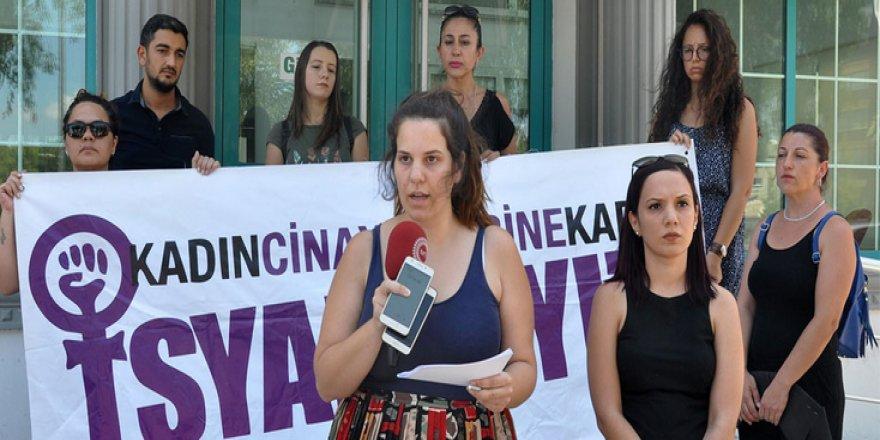 KADIN CİNAYETLERİ PROTESTO EDİLDİ!