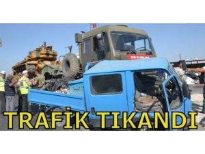 TRAFİK TIKANDI!