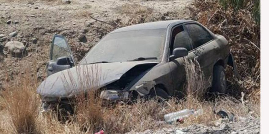 Gazimağusa -Lefkoşa Anayolu'da kaza