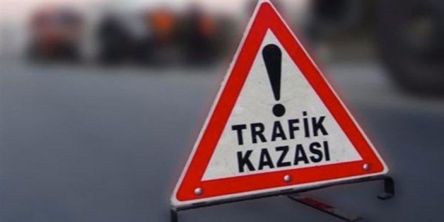GÜZELYURT-GİRNE ANAYOLUNDA KAZA!