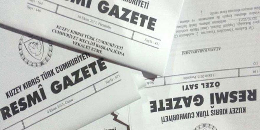 YASA TASARISI RESMİ GAZETE'DE YAYIMLANDI!