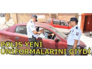 POLİS YENİ ÜNİFORMALARINI GİYDİ