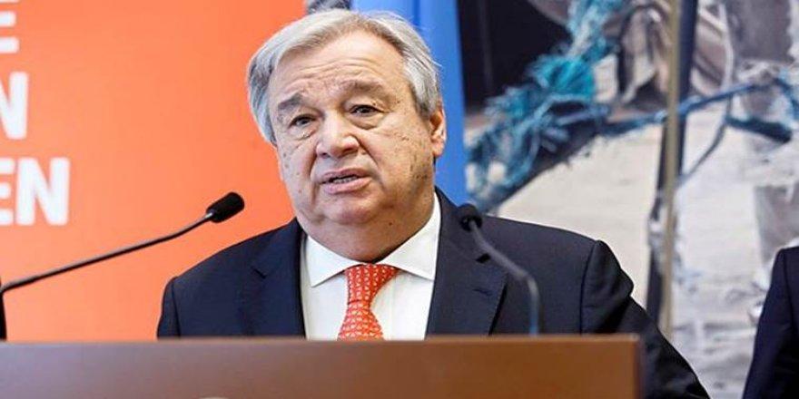 Guterres, Kıbrıs raporunu bugün Güvenlik Konseyi'ne sunuyor
