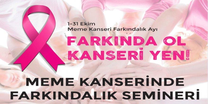 MEME KANSERİNE FARKINDALIK SEMİNERİ