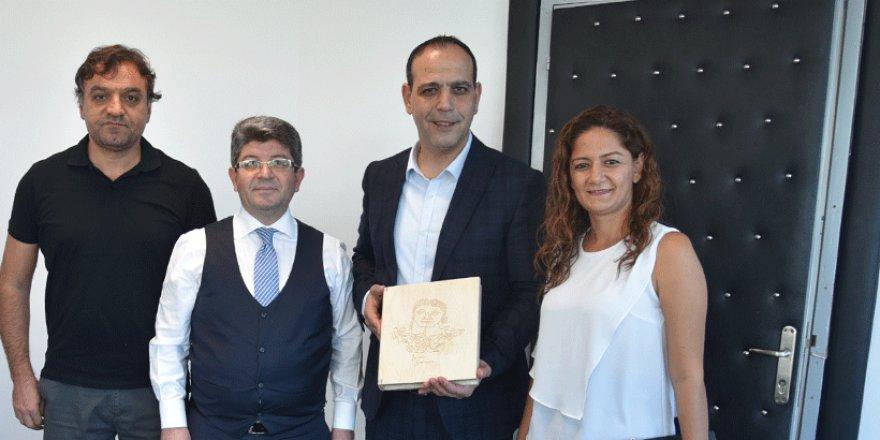 LTB Başkanı Harmancı Alanya Belediye Tiyatrosu'nu kabul etti