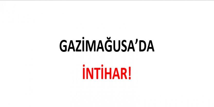 GAZİMAĞUSA'DA İNTİHAR!