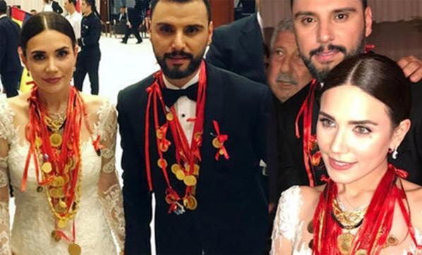 Alişan'a düğünde 1 TL takmışlar
