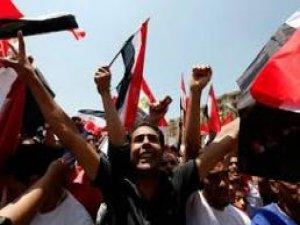 MISIR'DA GÖSTERİCİLER MÜSLÜMAN KARDEŞLER MERKEZİNE GİRDİ