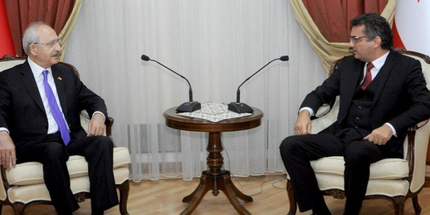 ERHÜRMAN, CHP GENEL BAŞKANI KEMAL KILIÇDAROĞLU'NU KABUL ETTİ